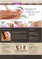 Spa Salon - Website template