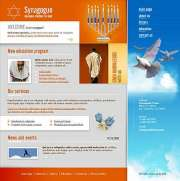 Synagogue - Website template