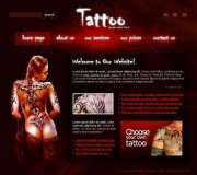 Tattoo - Flash template