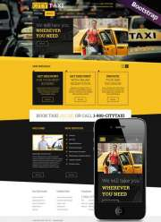 Taxi Service - HTML template