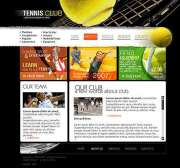 Tennis Club - Flash template