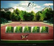 Tennis Club - VideoAdmin flash templates