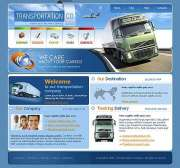 Transportation - Website template