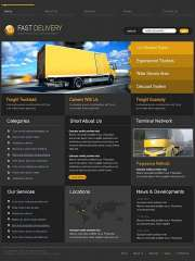 Transportation - HTML template