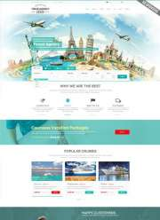 Travel Agency WP - Wordpress templates