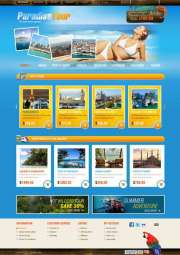 Travel Agency - OpenCart templates