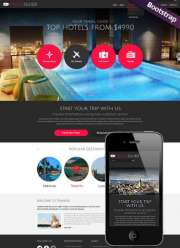 Travel Guide - HTML template