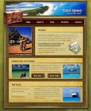 Travel agency - Website template