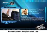 Video portfolio - Flash template