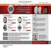 Watch store - Website template