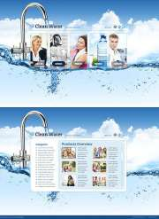 Water Filter - HTML5 templates