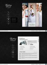 Wedding Dresses - HTML5 templates