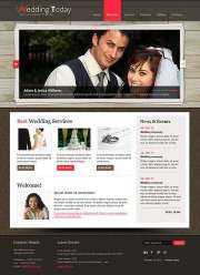 Wedding Planner - HTML template