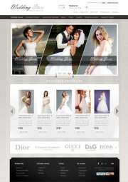 Wedding Store - OpenCart templates