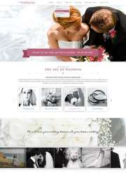 Wedding day - HTML template