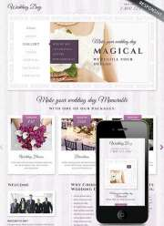Wedding - HTML template