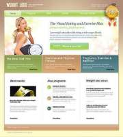 Weight Loss - HTML template