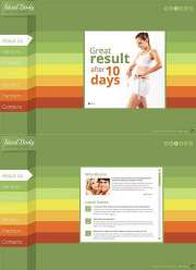 Weight Loss - HTML5 templates