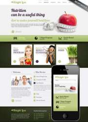 Weight loss v3.0 - Joomla templates