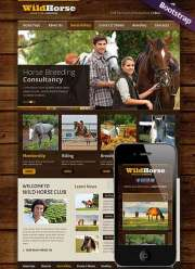 Wild Horse - HTML template