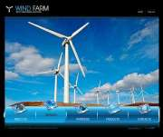Wind Energy - Easy flash templates