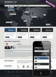 World Business - HTML template
