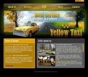 Yellow taxi - Easy flash templates