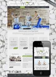 Yoga Club - Wordpress templates