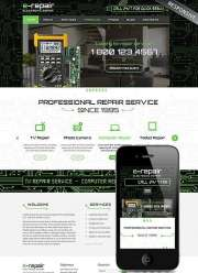 electronic repair - Wordpress templates